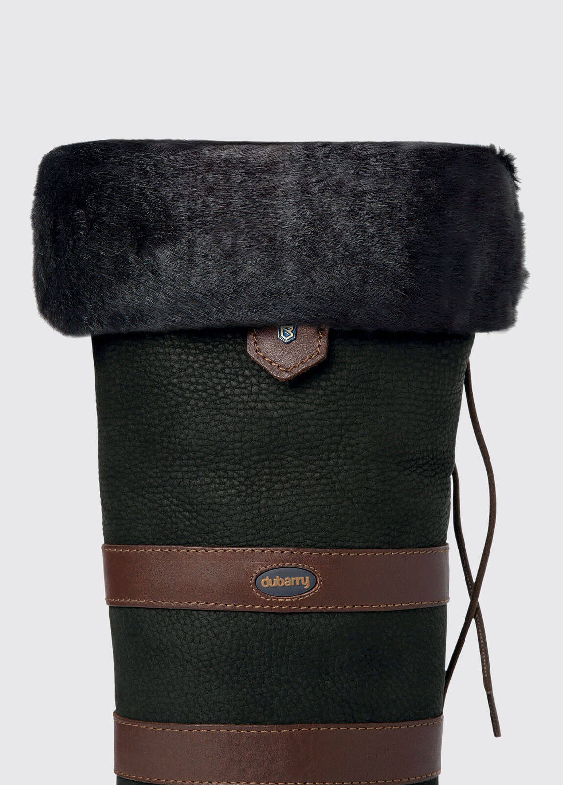 Faux Fur Boot Liners - Black