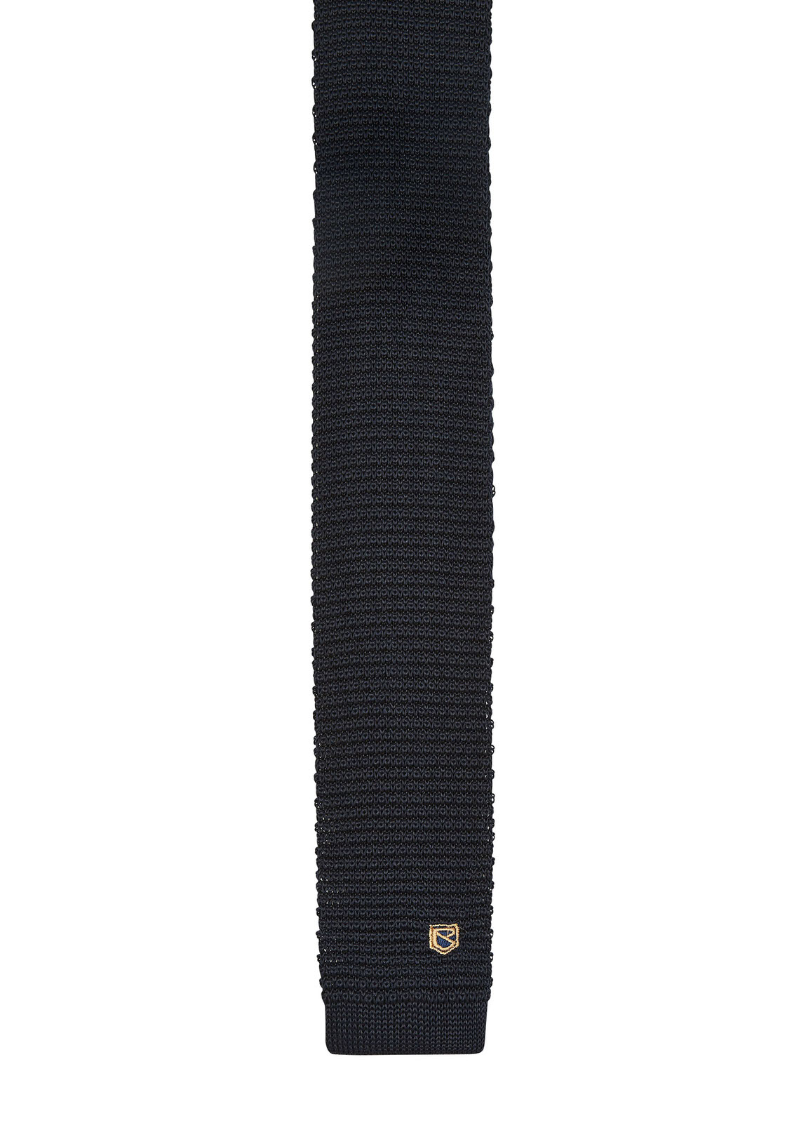 Knockroe_Knitted_Tie_Navy_Image_1