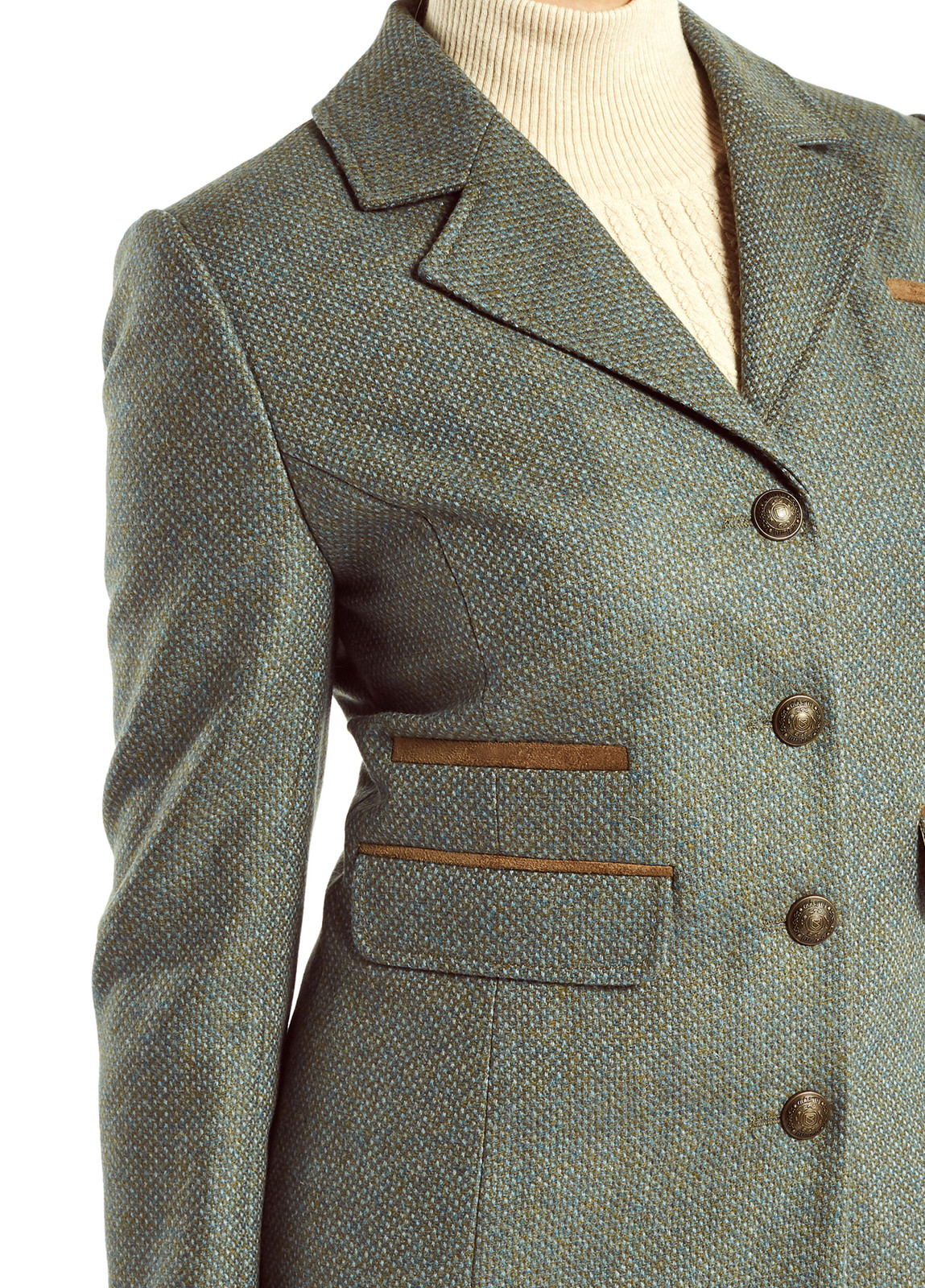 Tweed Rowan Damen Damen Blackthorn Blackthorn Tweed Mantel v8Nmwn0