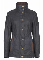 Mountrath Waxed Jacket - Navy