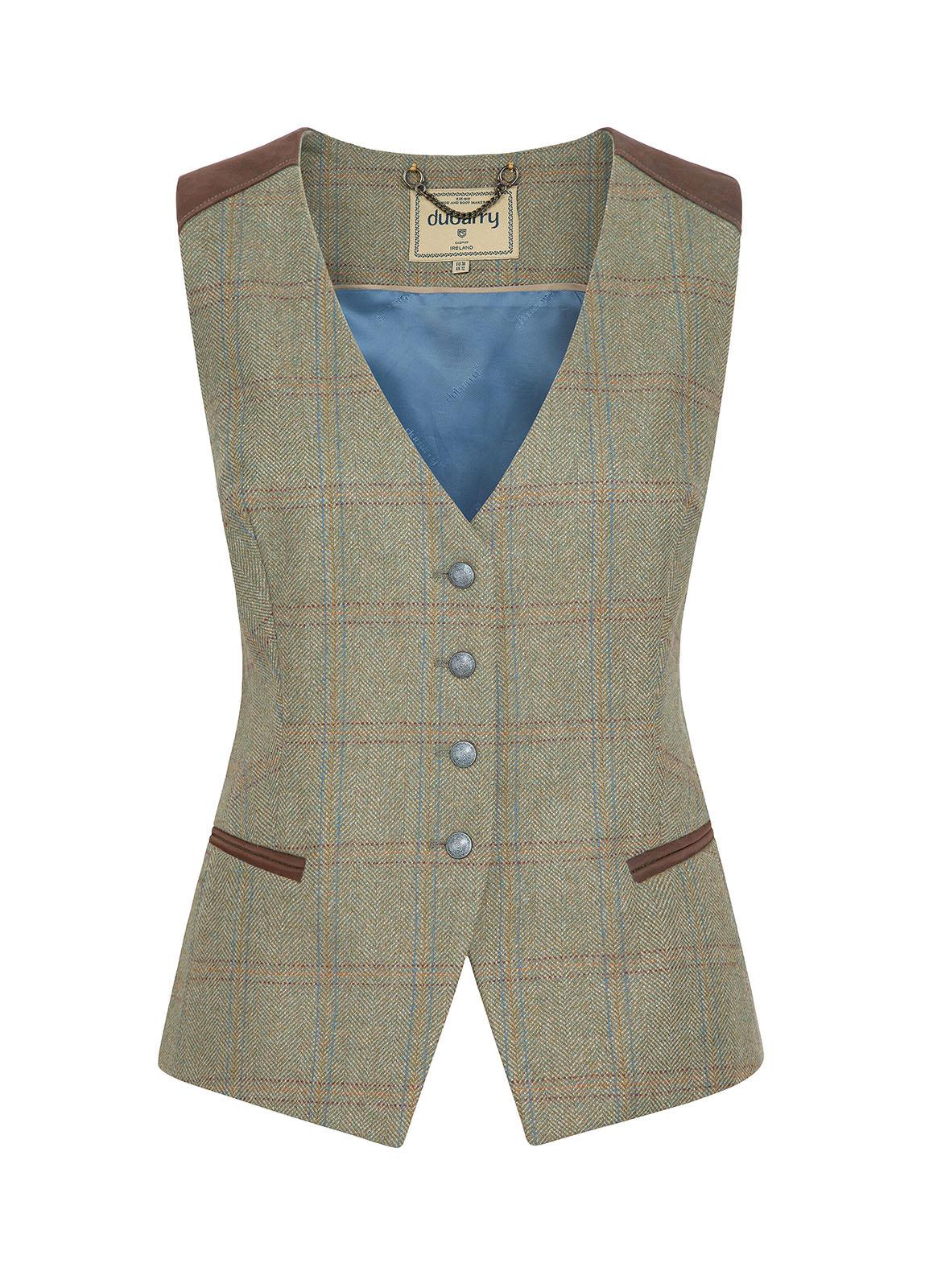 Dubarry_ Daisy Fitted Tweed Waistcoat - Acorn_Image_2