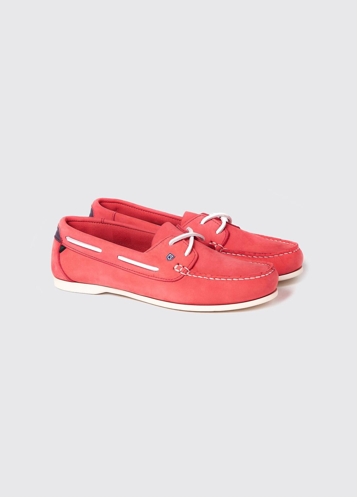 Aruba Deck Shoe - Coral