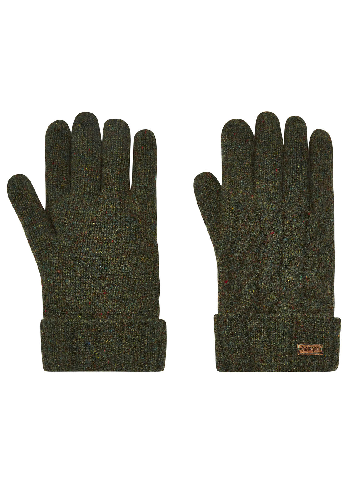 Buckley_Knitted_Gloves_Olive_Image_1