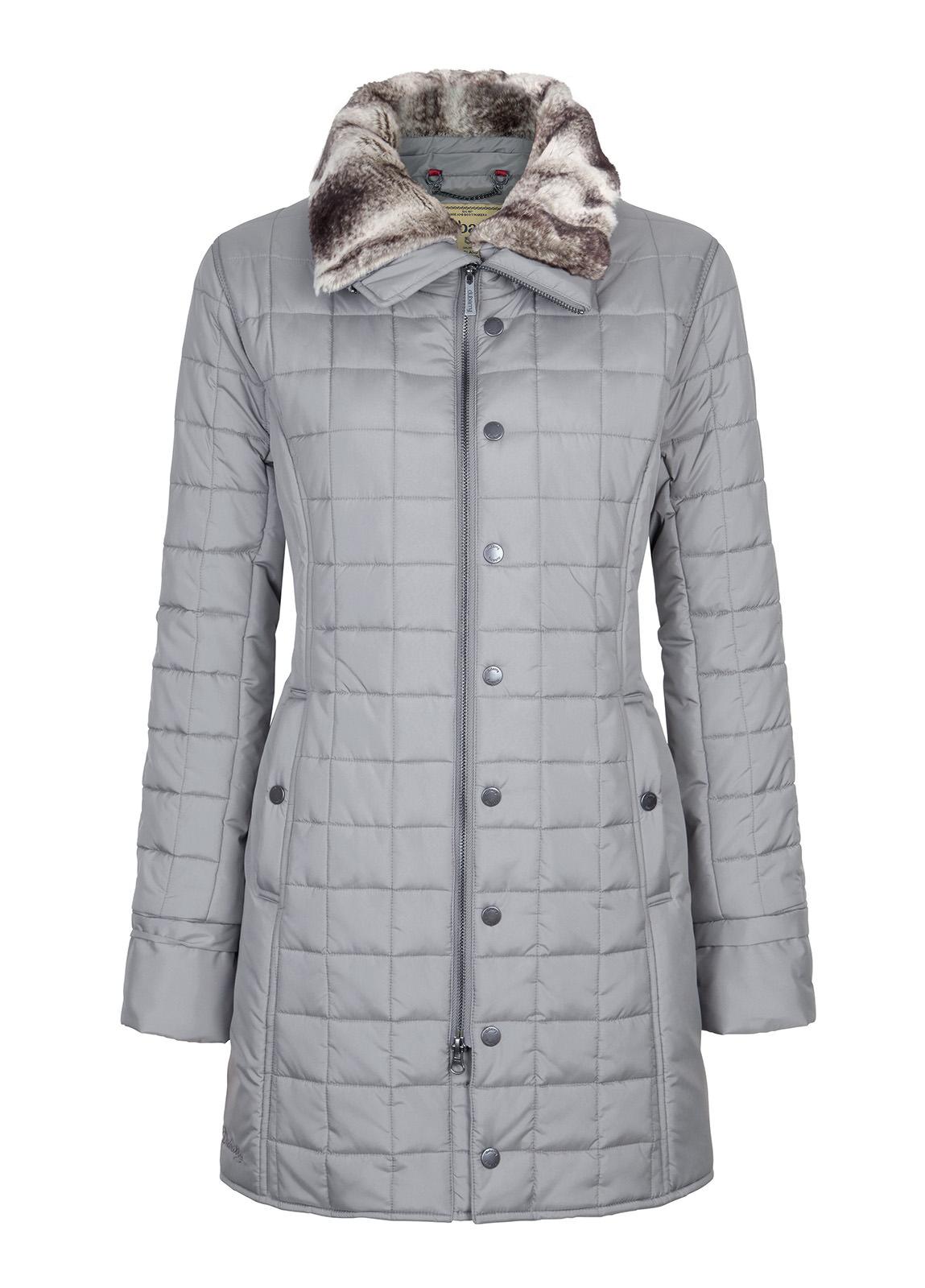 Dubarry_Erin Women's Quilted Coat - Light Grey_Image_2