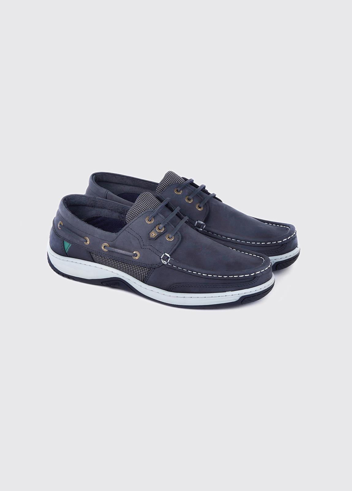 Regatta Deck Shoe - French Navy