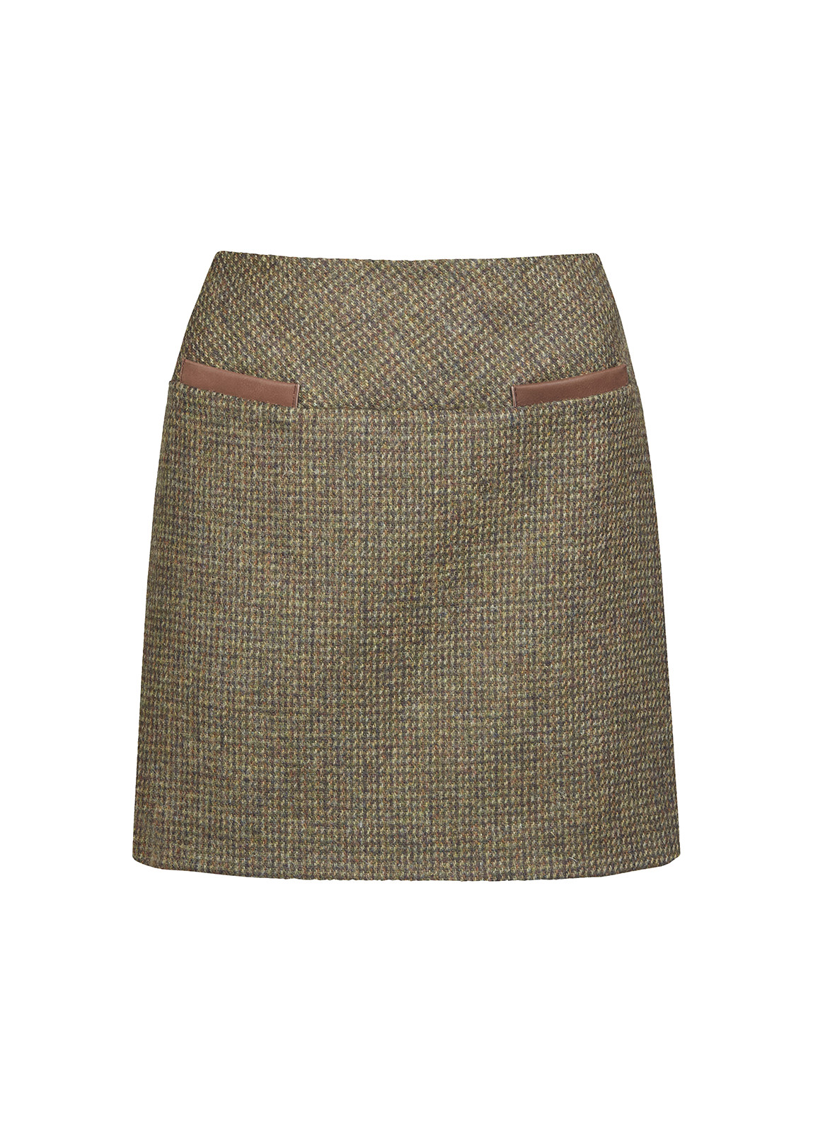 Dubarry_ Clover Tweed Mini Skirt - Heath_Image_2