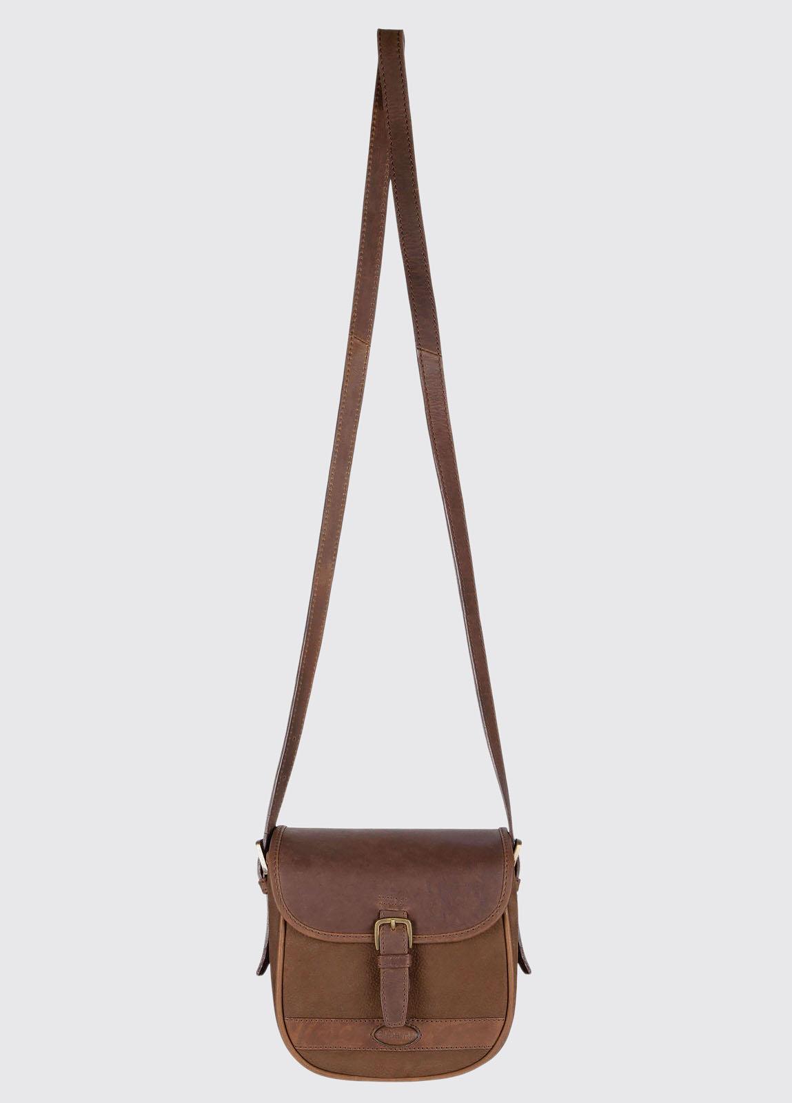Ballymena Saddle Bag - Walnut