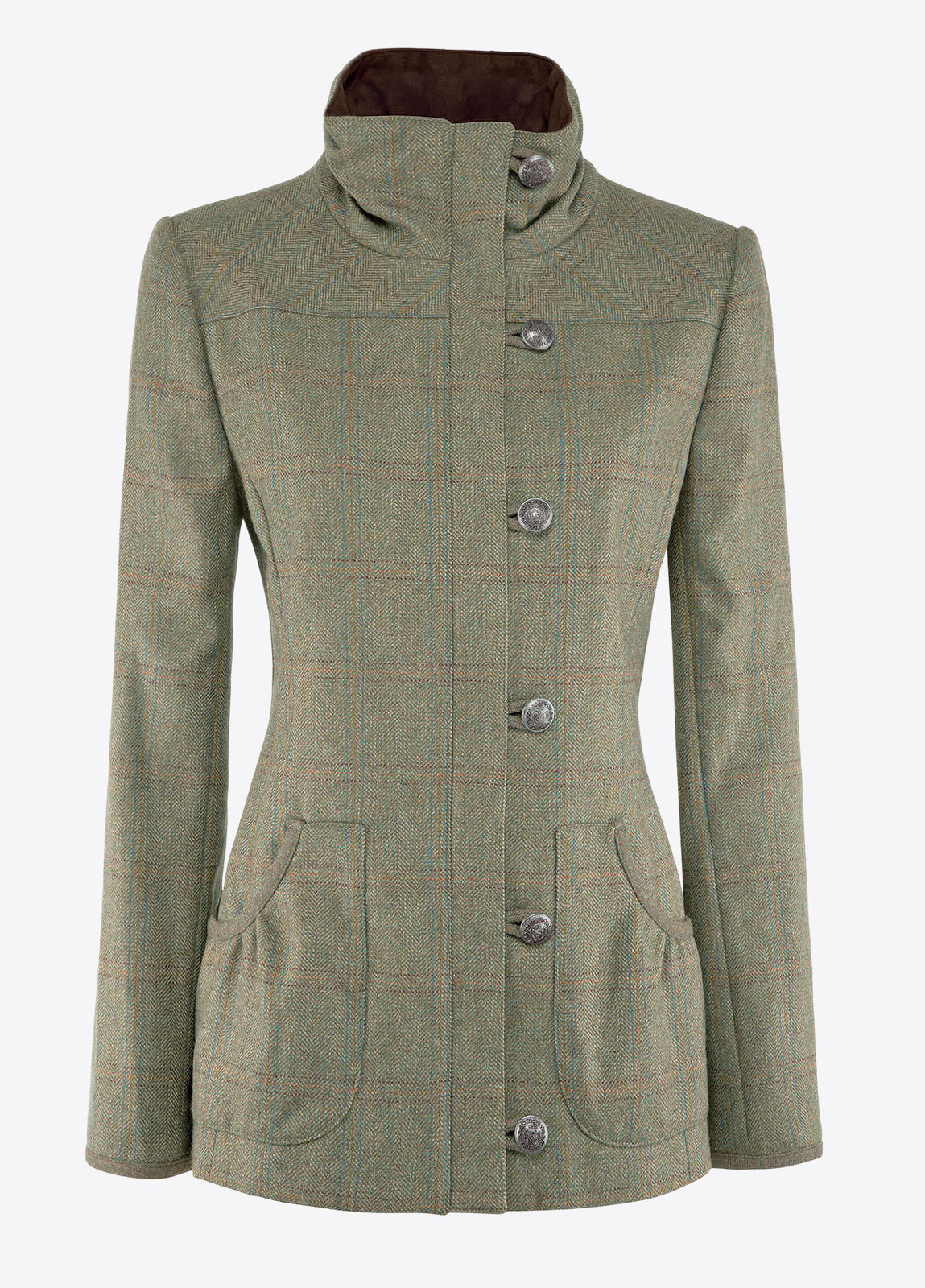 Bracken Damen Tweedjacke Connacht Acorn