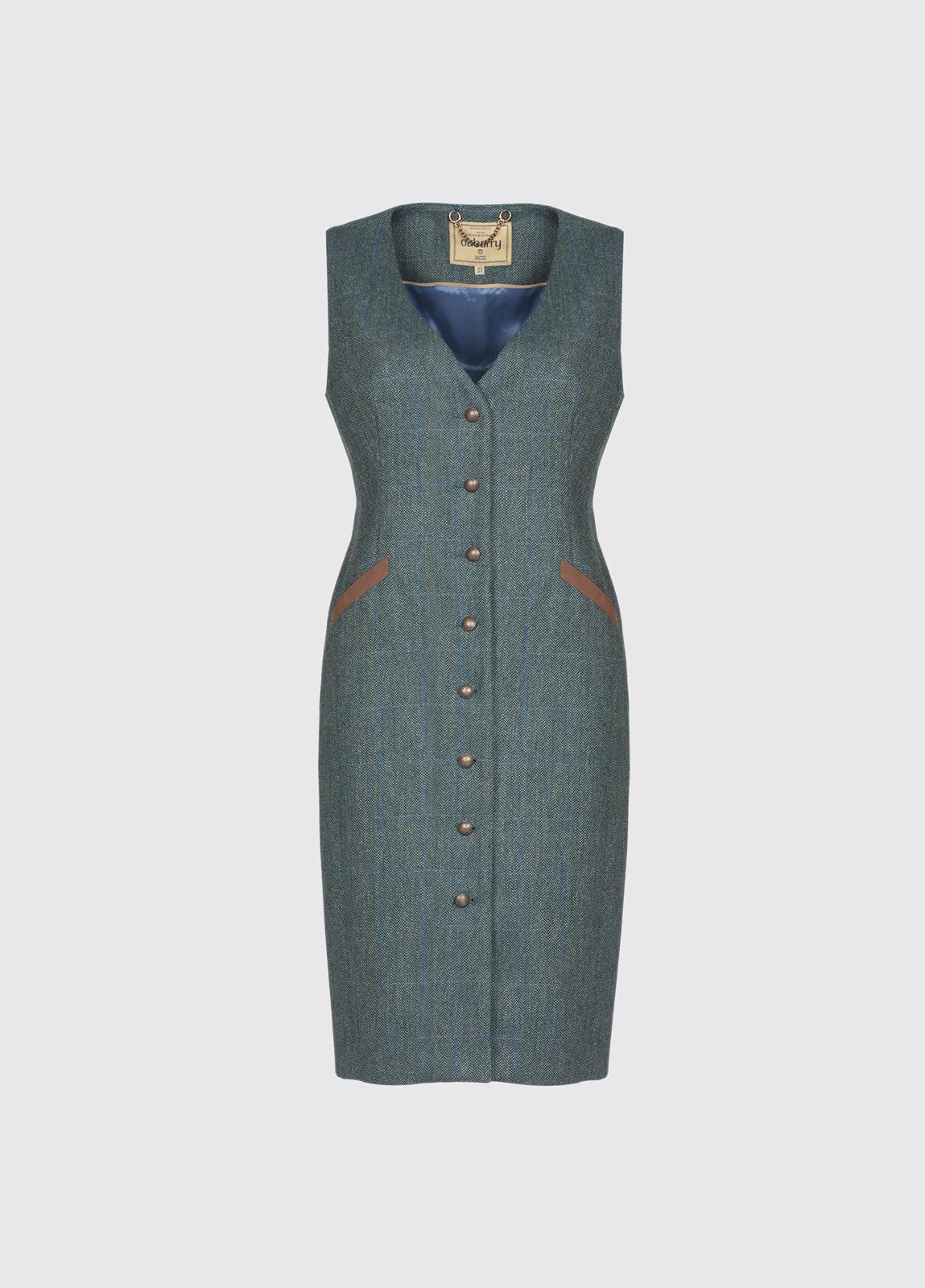 Larkhill Tweed dress - Mist