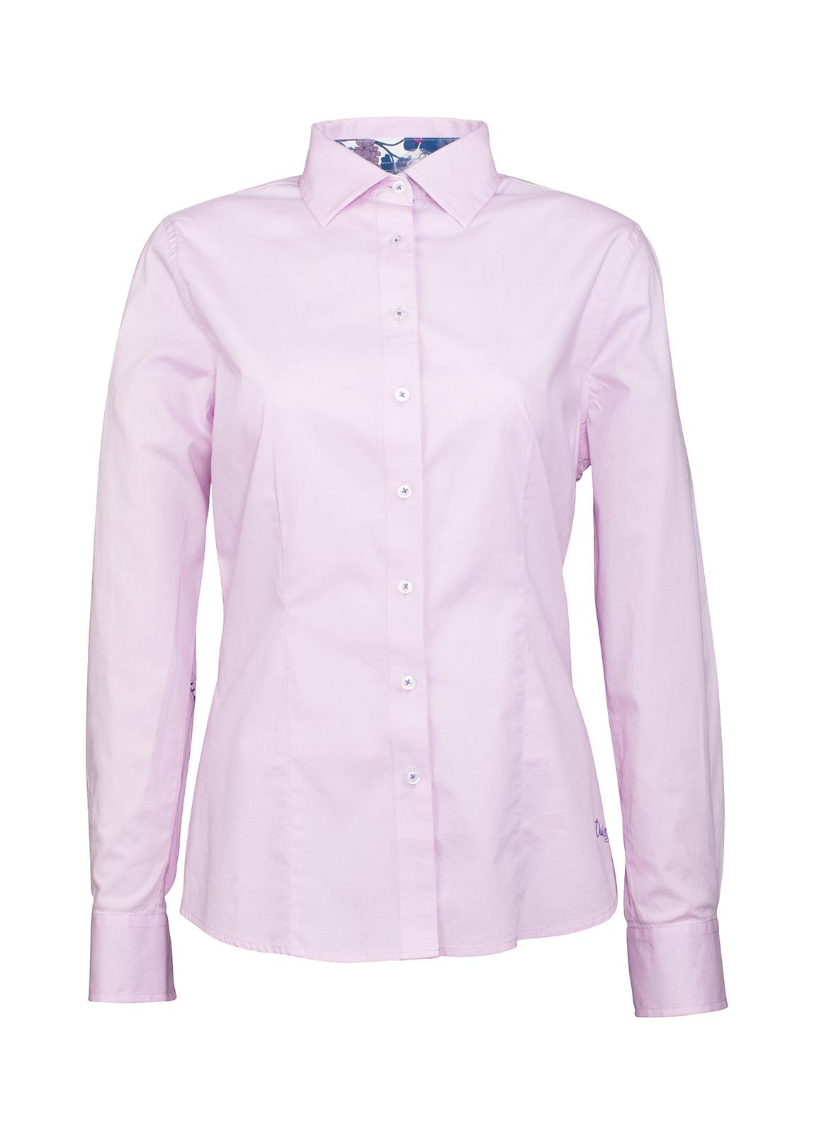 Dubarry_ Petunia Floral Trim Shirt - Pink_Image_2