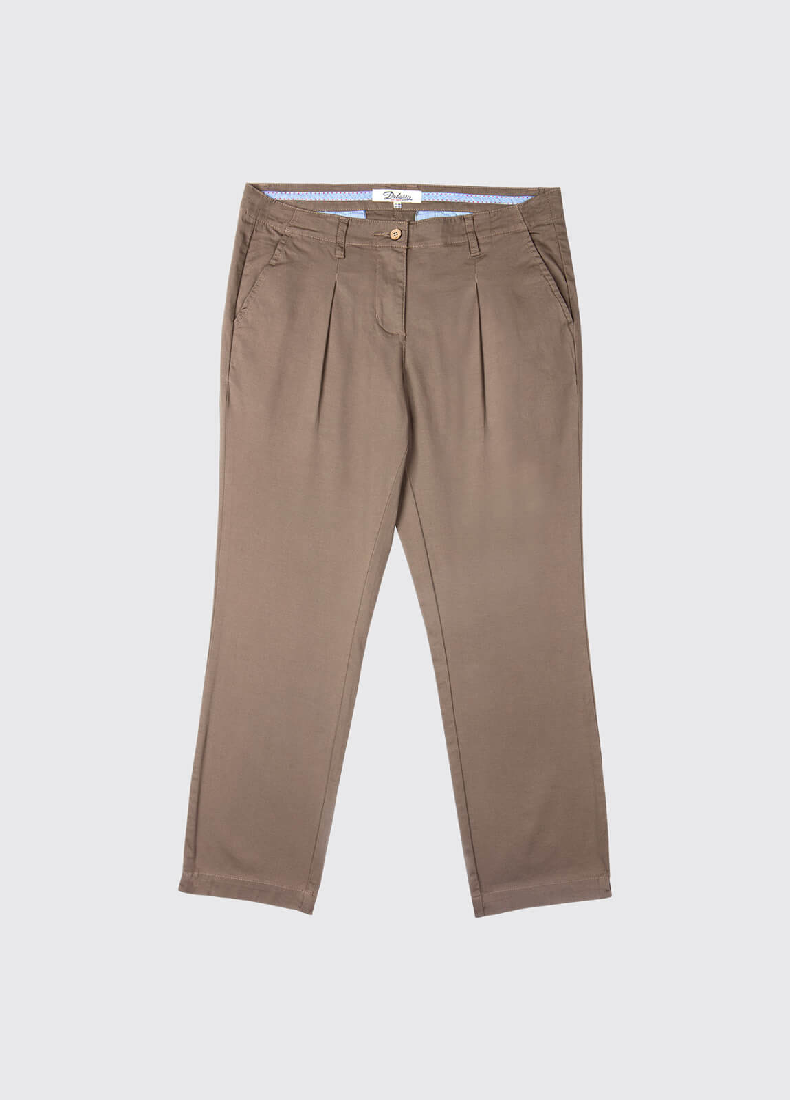 Reed Capri Trousers - Cafe