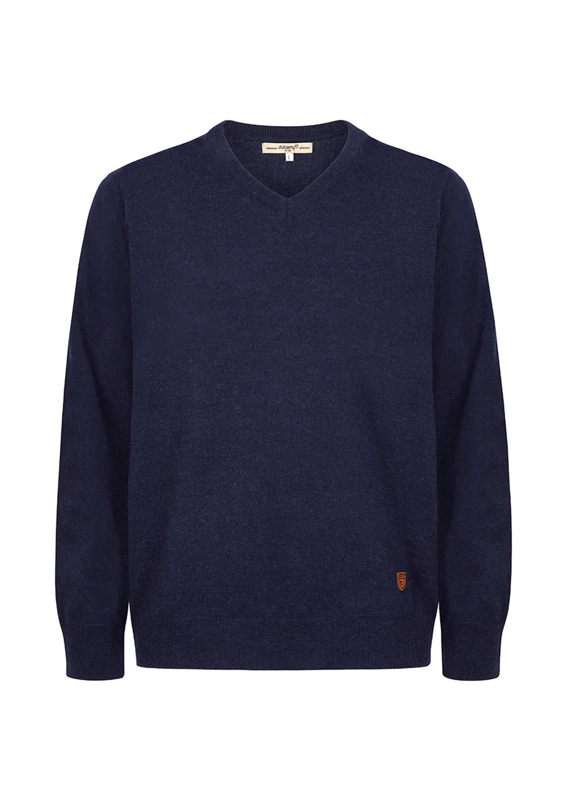 Brennan Men's Knitted Sweater  - Navy