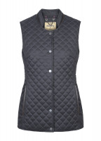 Wilde Womens Quilted Gilet - Navy