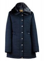 Abbey Women's Quilted Jacket - Navy