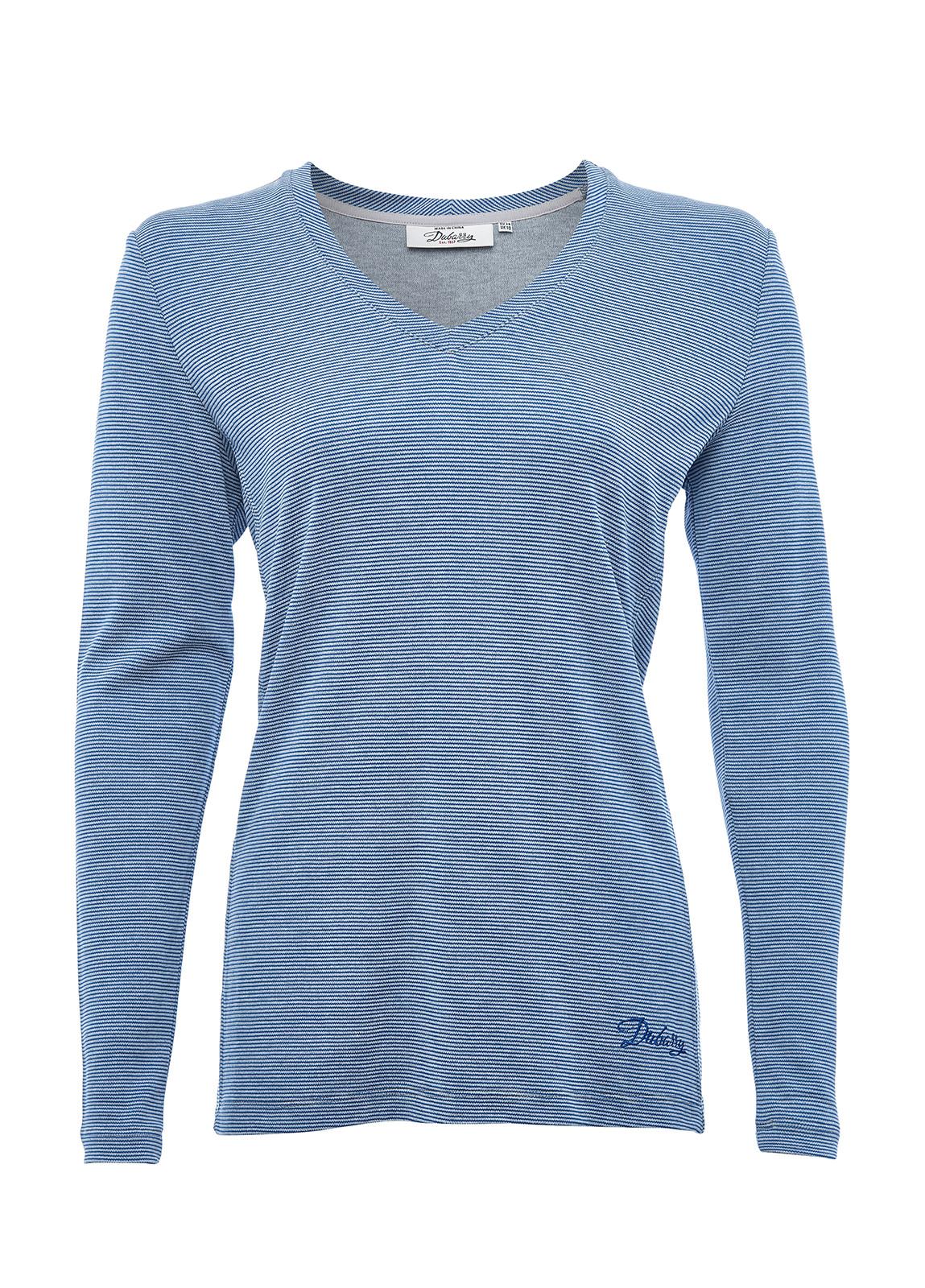 Dubarry_ Portumna Long-sleeved Top - Denim_Image_2