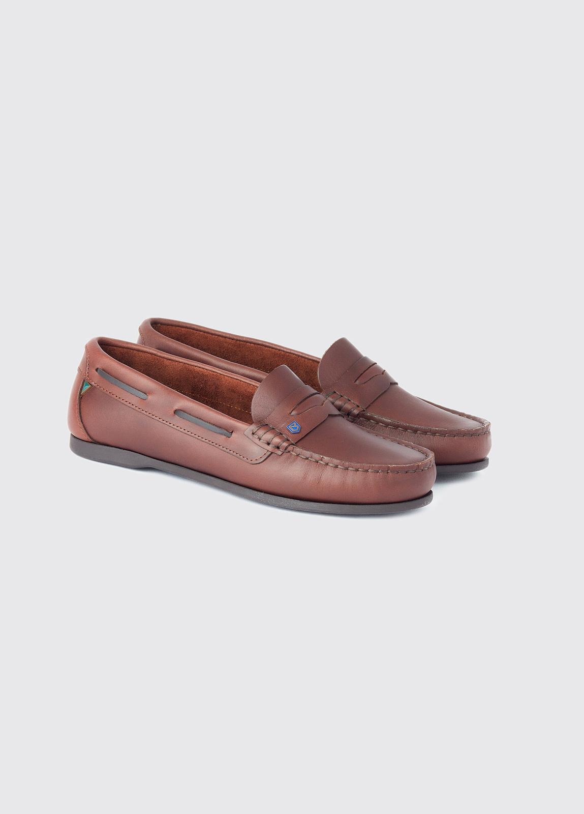 Belize Deck Shoe - Mahogany