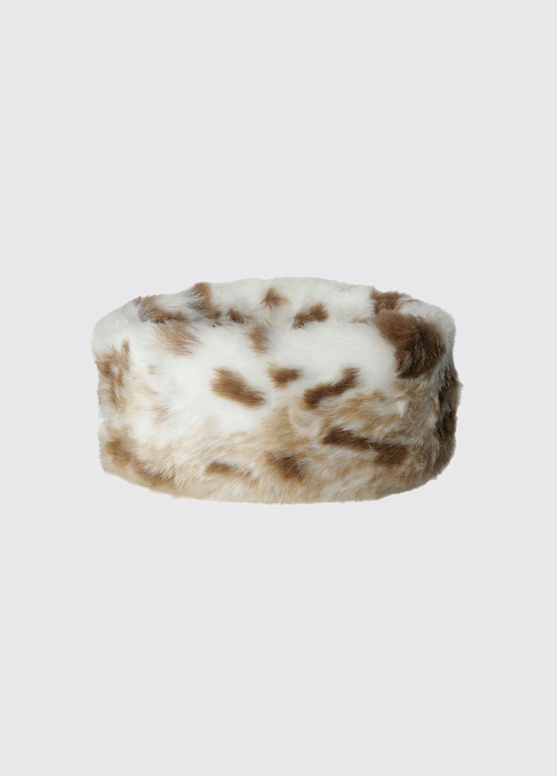 Faux Fur Headband - Lynx