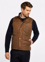 Mayfly Wax Gilet - Cigar