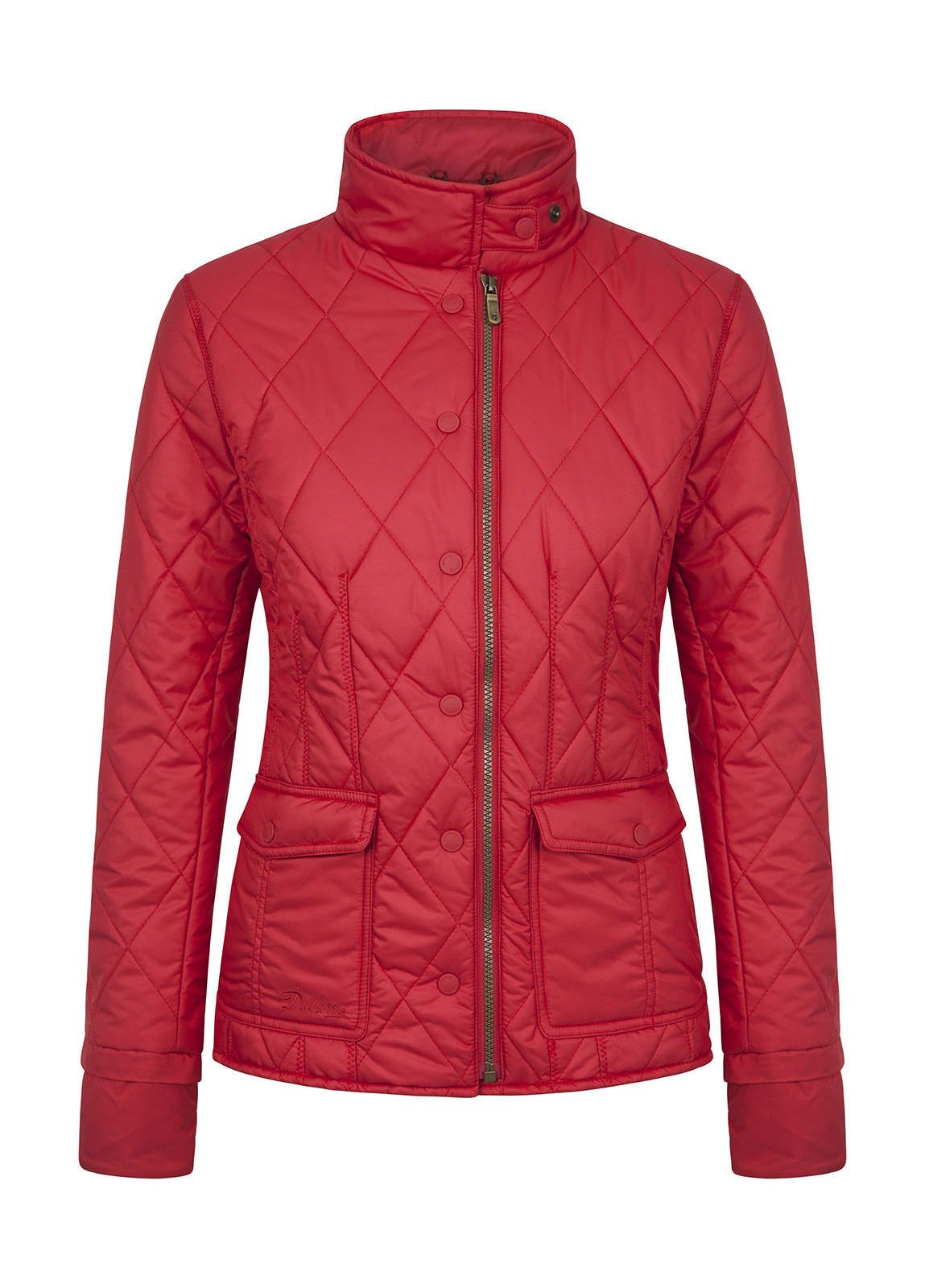 Carra Women's Quilted Jacket - Red