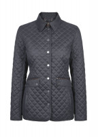Shaw Women's Quilted Jacket - Navy