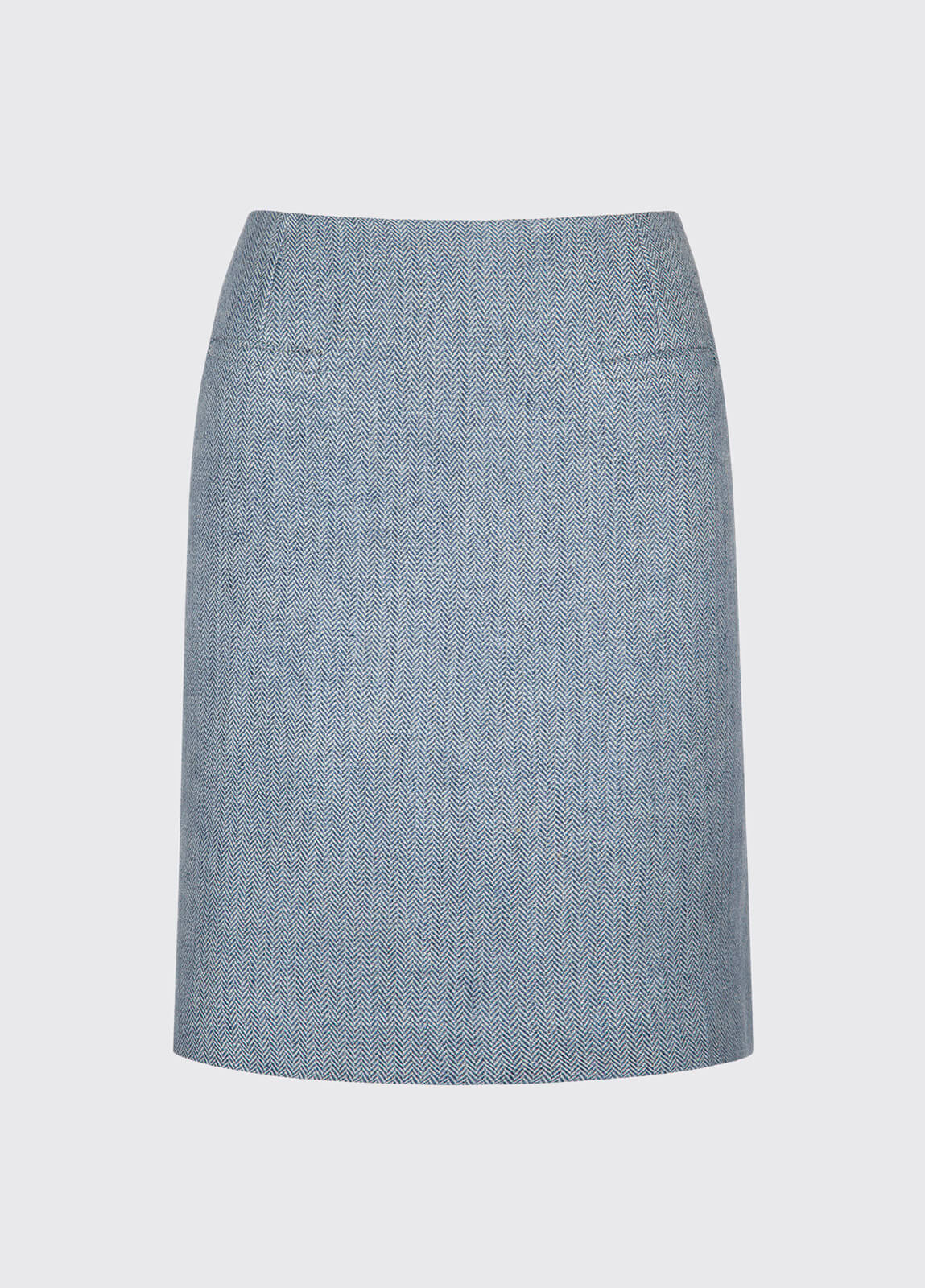 Sunflower Linen Ladies Skirt - Blue
