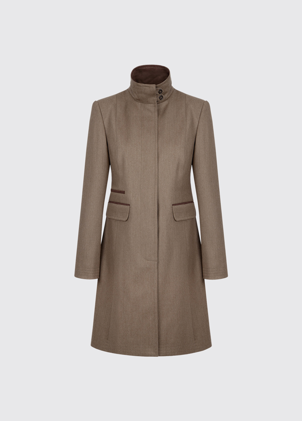 Elmtree Women's Covert Coat - Loden
