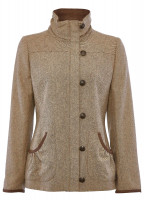 Bracken Tweed Coat - Sable