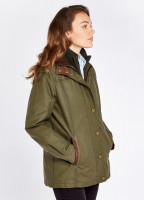 Mountrath Waxed Jacket - Dusky Green