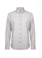 Roundwood Men's Tattersall Check Shirt - S-W Multi