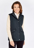 Clonmel Quilted Gilet - Navy