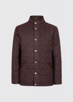 Beckett Quilted Jacket - Chestnut
