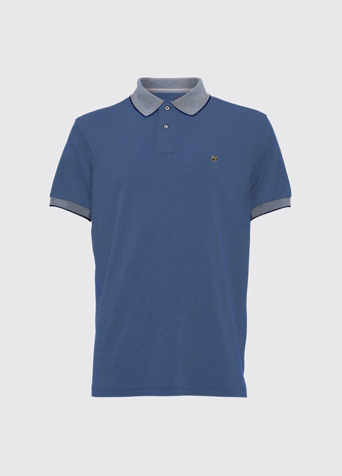 Kylemore polo shirt - Denim