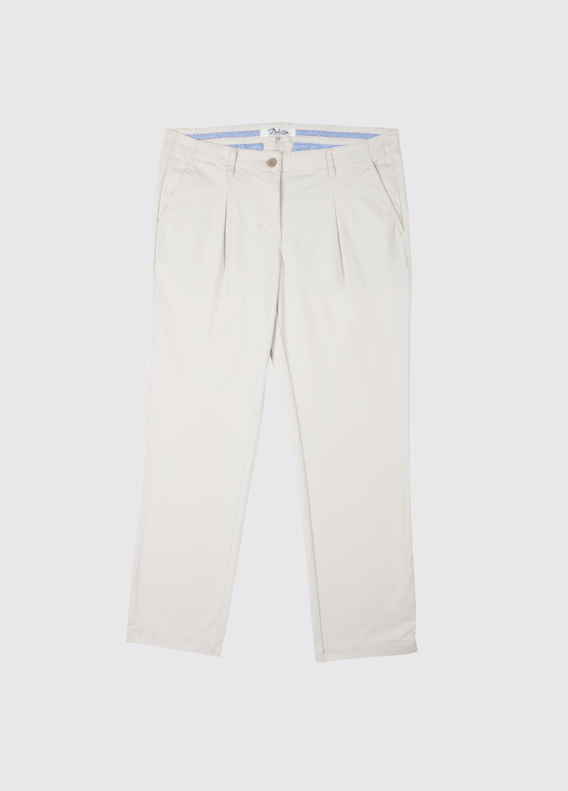 Reed Capri Trousers - Oyster