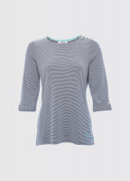 Portmagee Stripe Top - Navy