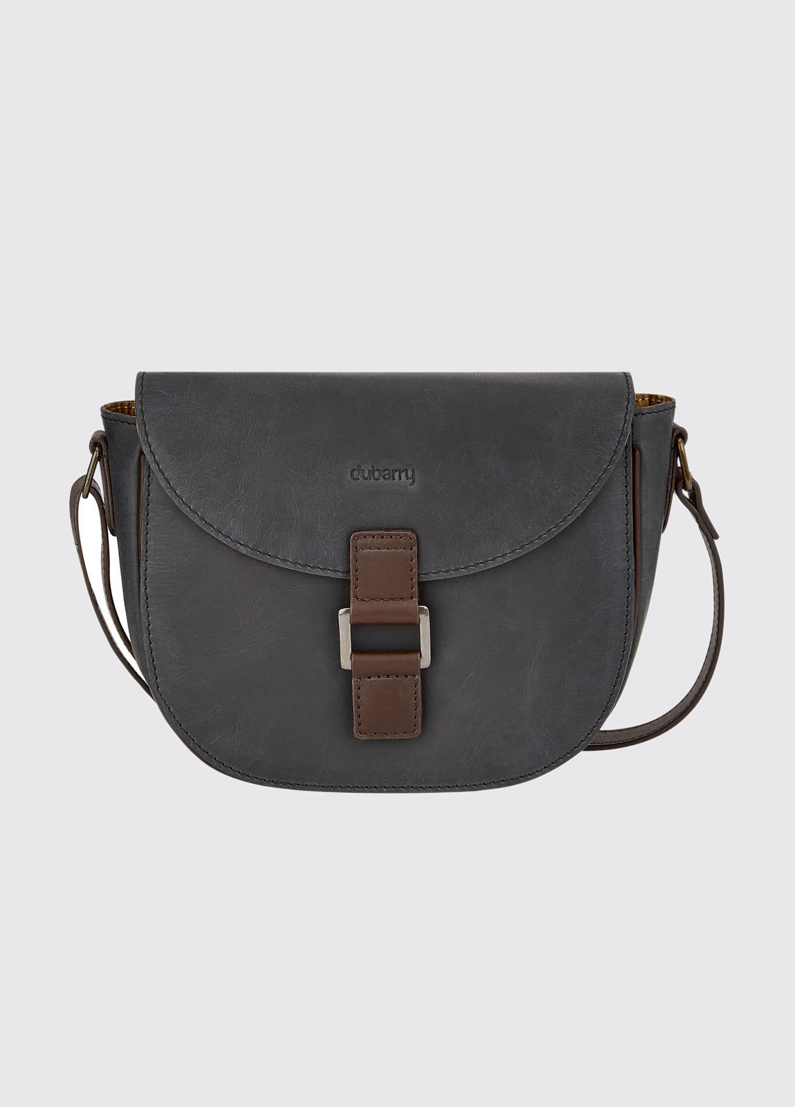 Ballybay Cross Body Bag - Black/Brown