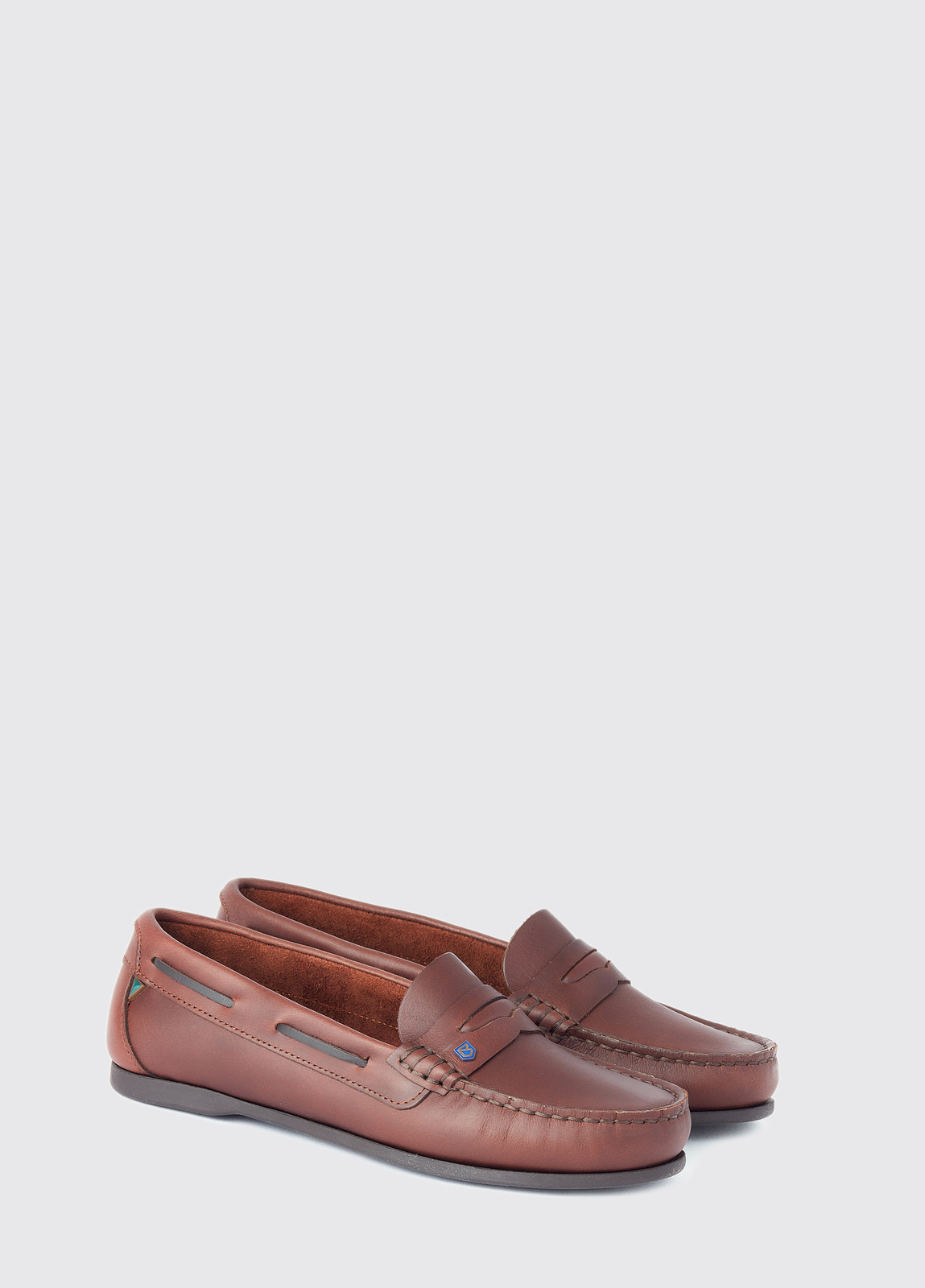 Belize Deck Shoe - Mahogany