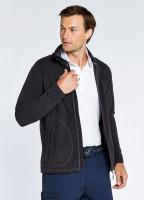 Mustique Men's Full-zip Fleece - Graphite