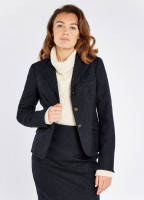 Buttercup Tweed Jacket - Navy