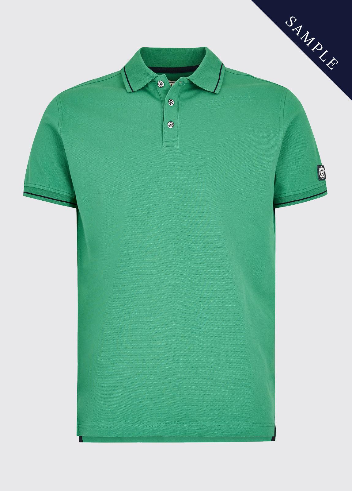 Grangeford Polo Shirt - Kelly Green - Size Medium
