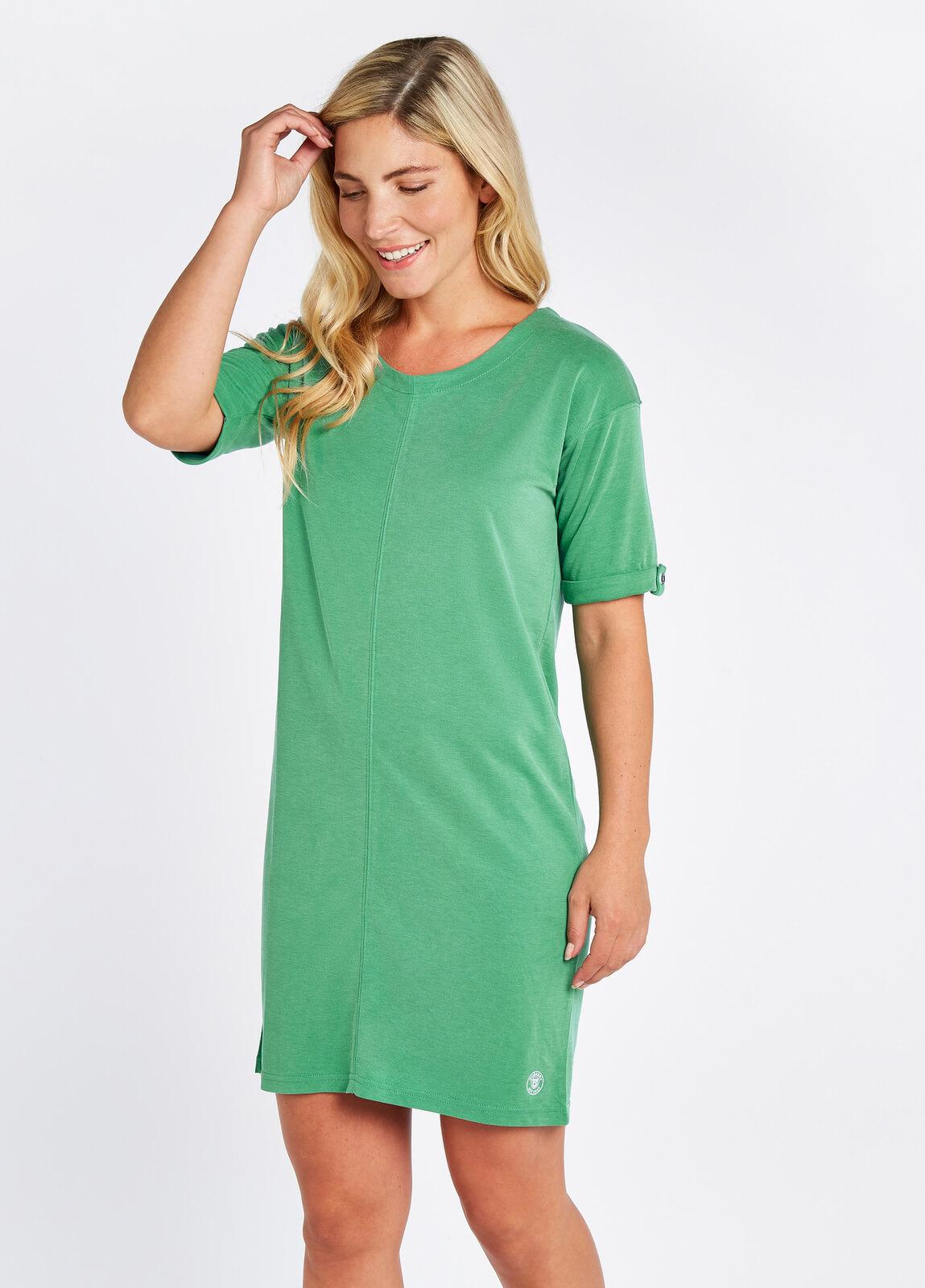 Coolbeg Tunic Dress - Kelly Green