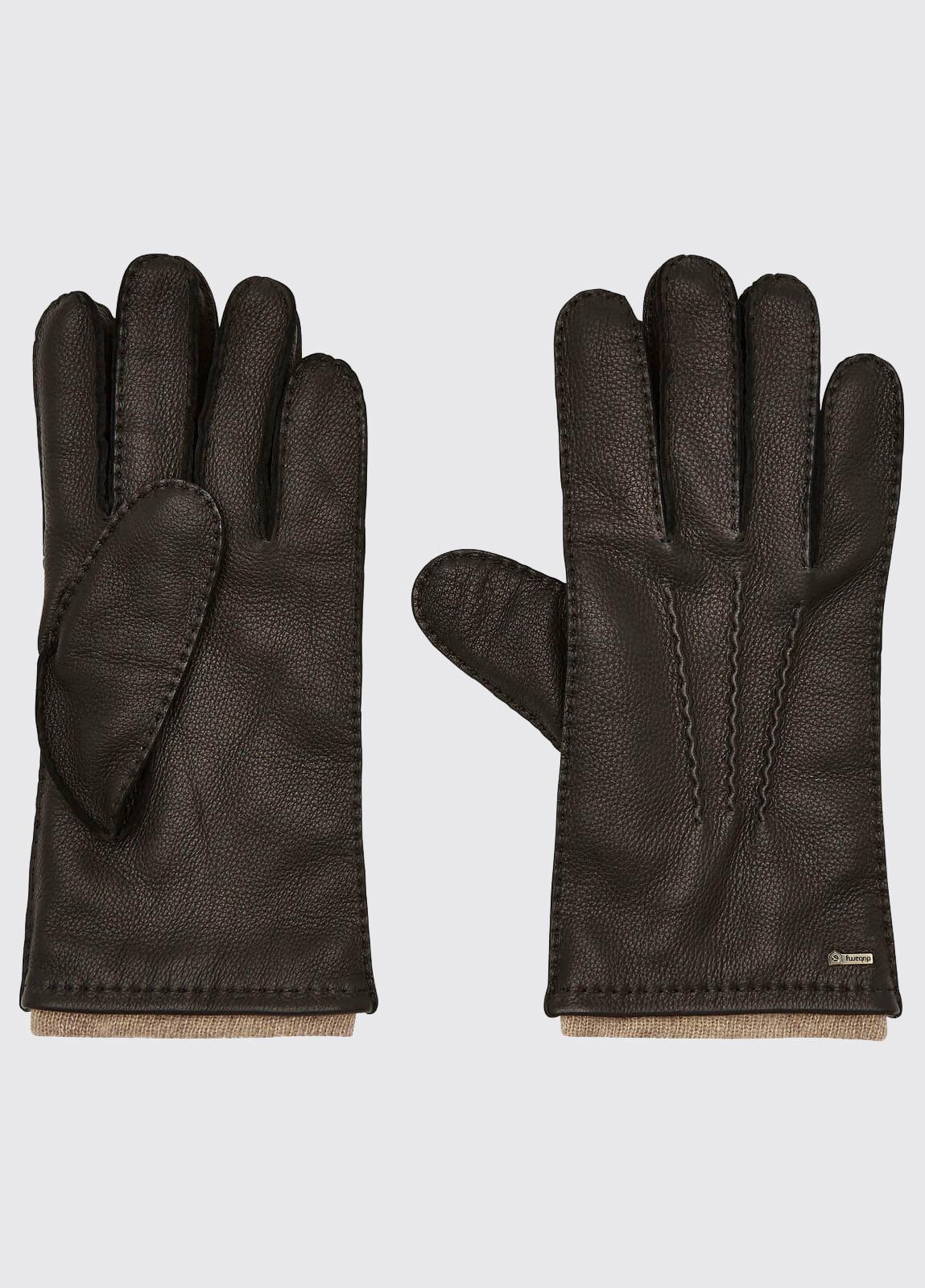 Lisryan Leather Gloves - Black