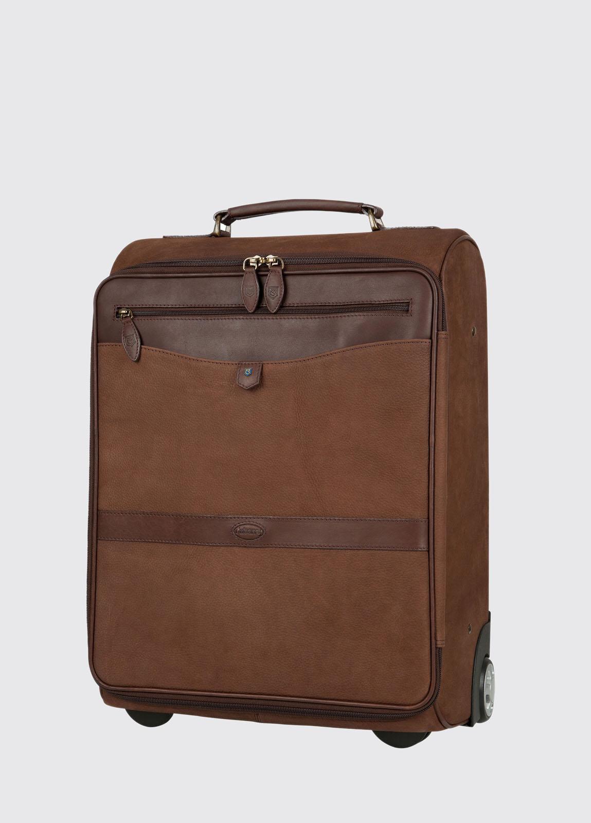 Gulliver Leather Carry On Case - Walnut