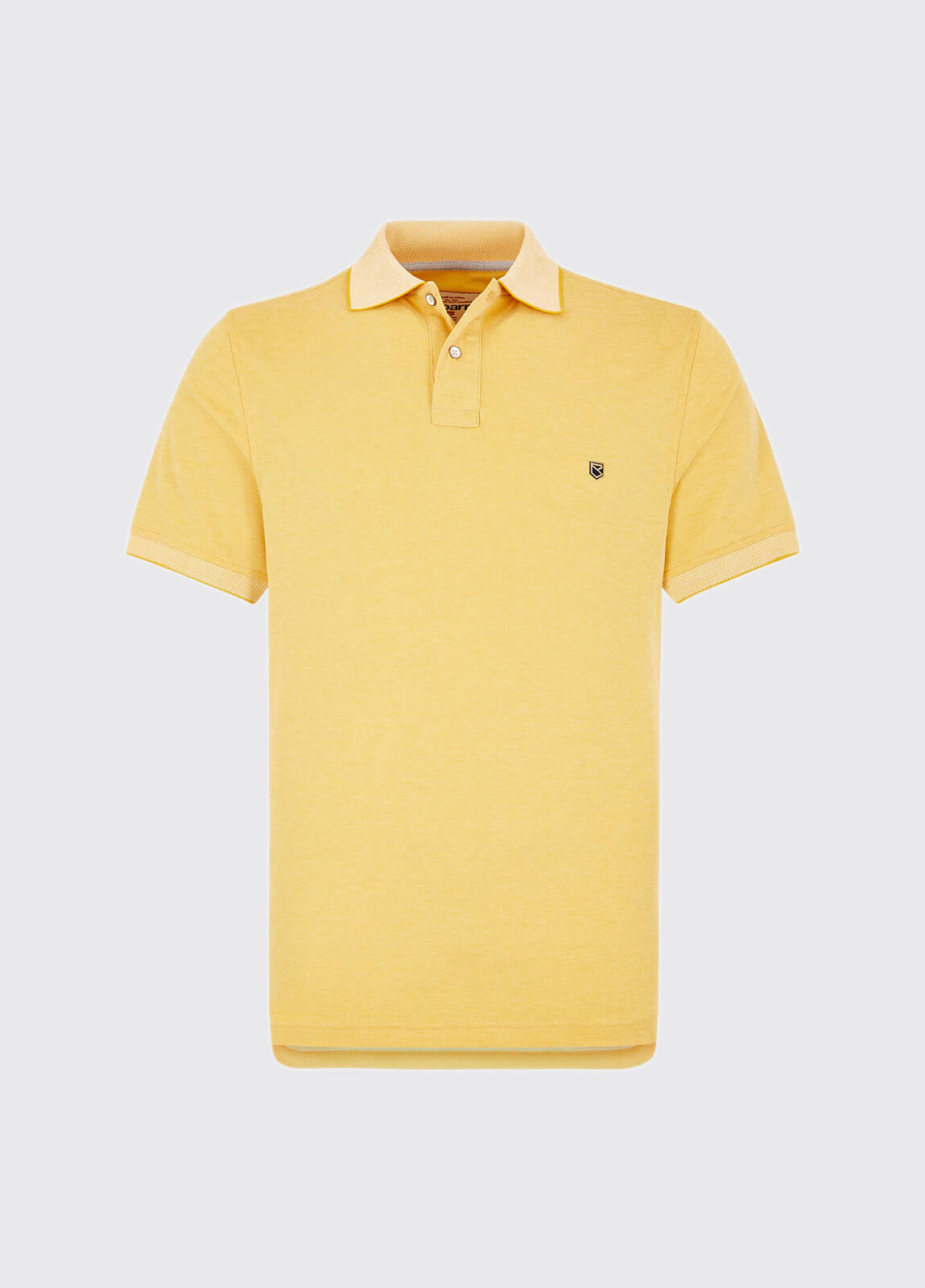 Kylemore polo shirt - Sunflower